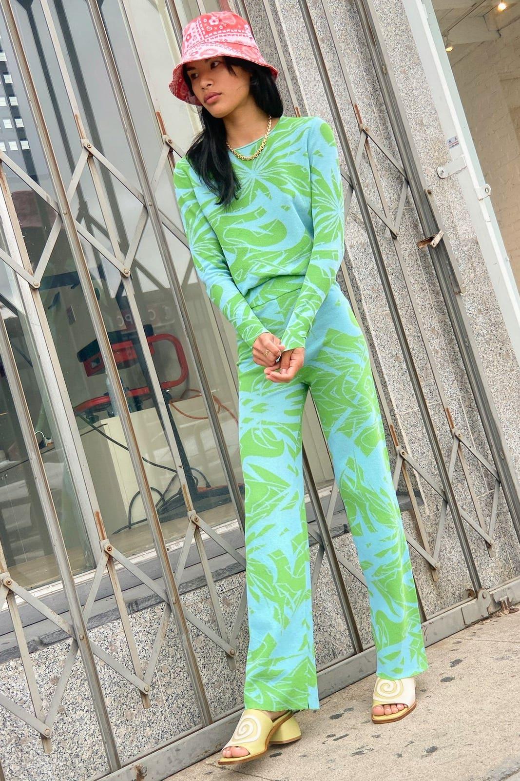 Chasis Pant - Blue/Green