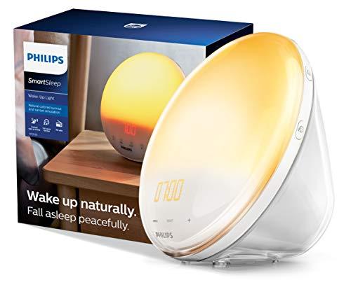 Philips SmartSleep Wake-up Light, Colored Sunrise and Sunset Simulation