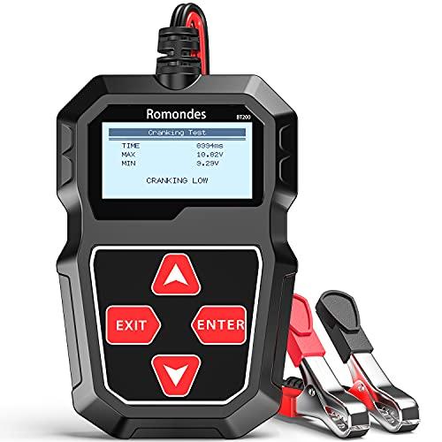 Romondes BT200 Car Battery Tester