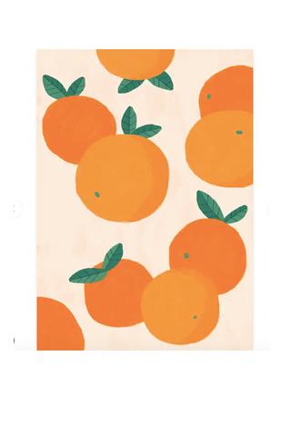 Affiche Illustration Oranges, Desenio, à partir de 9,95 €
