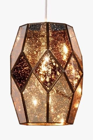 Abat-jour en verre miroir Romy Gold, John Lewis, £ 95