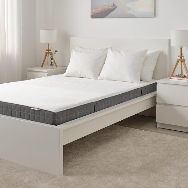MORGEDAL Foam mattress - firm/dark gray Queen