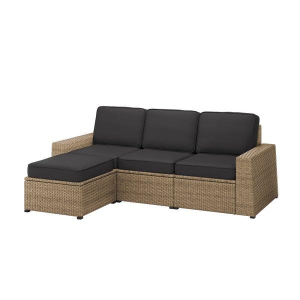 SOLLERÖN 3-seat modular sofa, outdoor