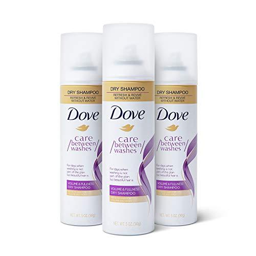 Dove Dry Shampoo Hair Treatment for Oily Hair, Volume and Fullness Cleansing Hair Volumizer
