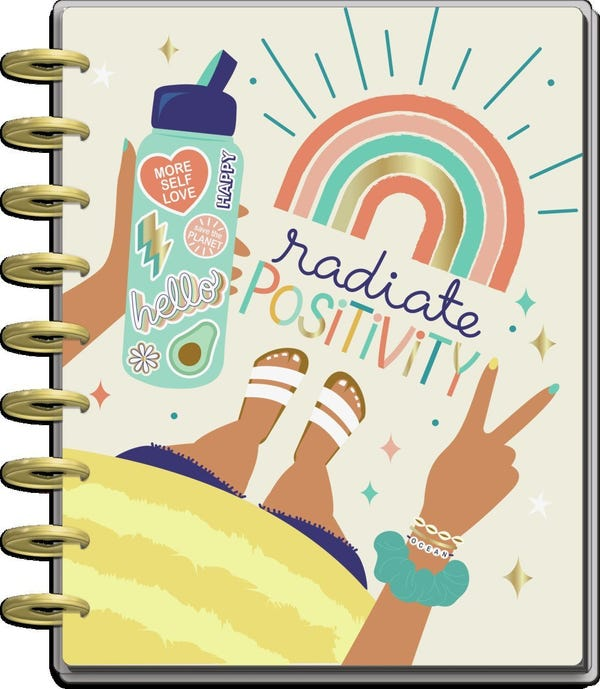 2021 Good Vibes Classic Student Happy Planner - 12 Months
