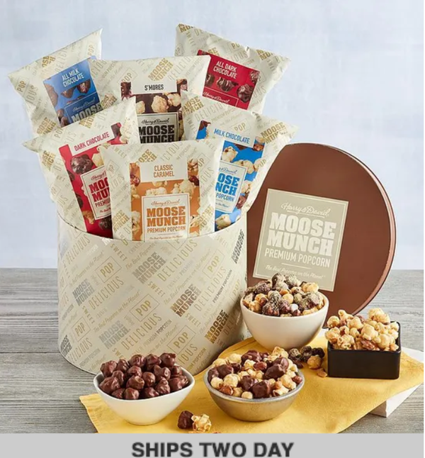 Moose Munch® Premium Popcorn Deluxe Tin