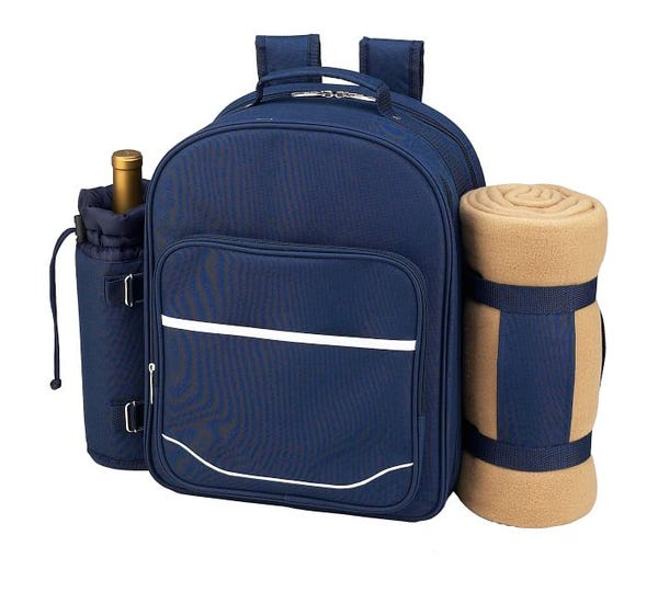 Everly Picnic Backpack, Set for 4