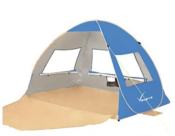 Large Pop Up Beach Tent