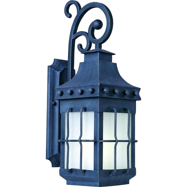Maxim Nantucket EE One Light 23-Inch Outdoor Wall Light - Country Forge - 86084FSCF