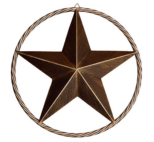 "17"" Metal Star Western Decor"