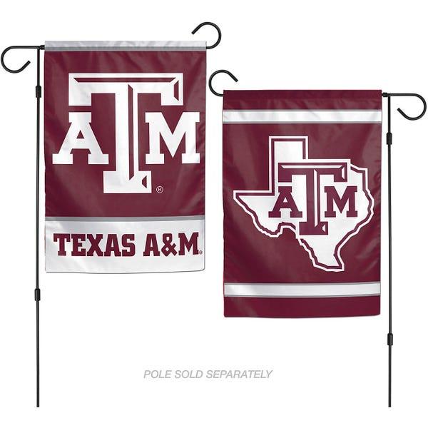 WinCraft Texas A&M University 2-Sided Garden Flag