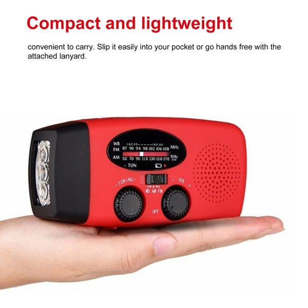Emergency Solar Hand Crank AM/FM Radio