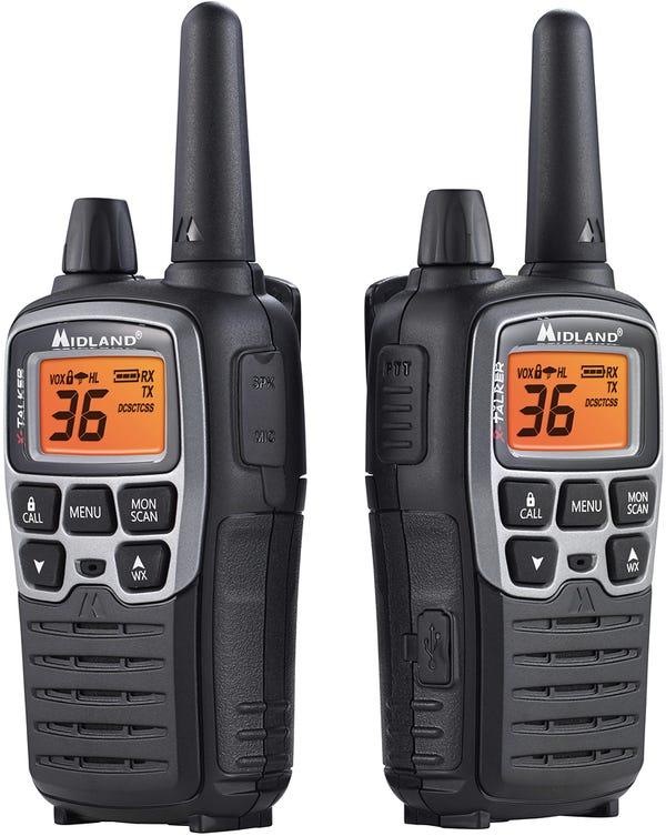 Midland Handheld X-Talker GMRS Radio, Pair