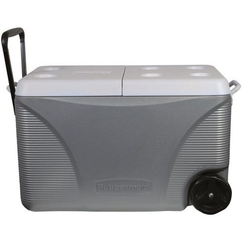75-Quart Wheeled Insulated Chest Cooler