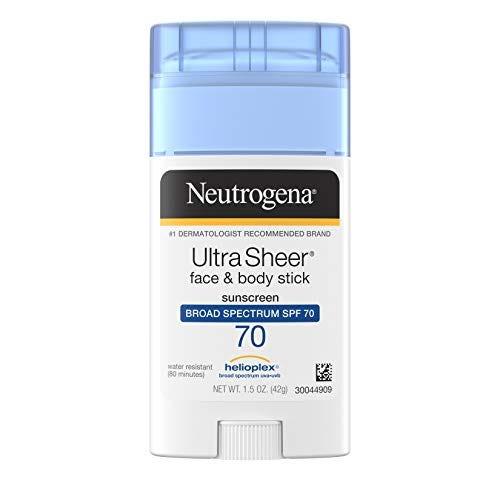 Neutrogena Ultra Sheer Non-Greasy Sunscreen Stick for Face & Body