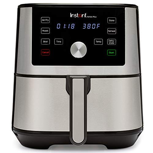 Instant Pot Vortex Plus 6-in-1 Air Fryer, 6 Quart, 6 One-Touch Programs, Air Fry, Roast, Broil, Bake, Reheat, and Dehydrate