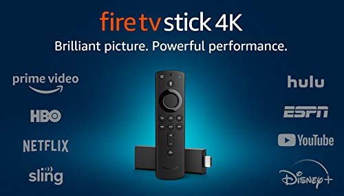 Fire TV Stick 4K streaming device with Alexa Voice Remote