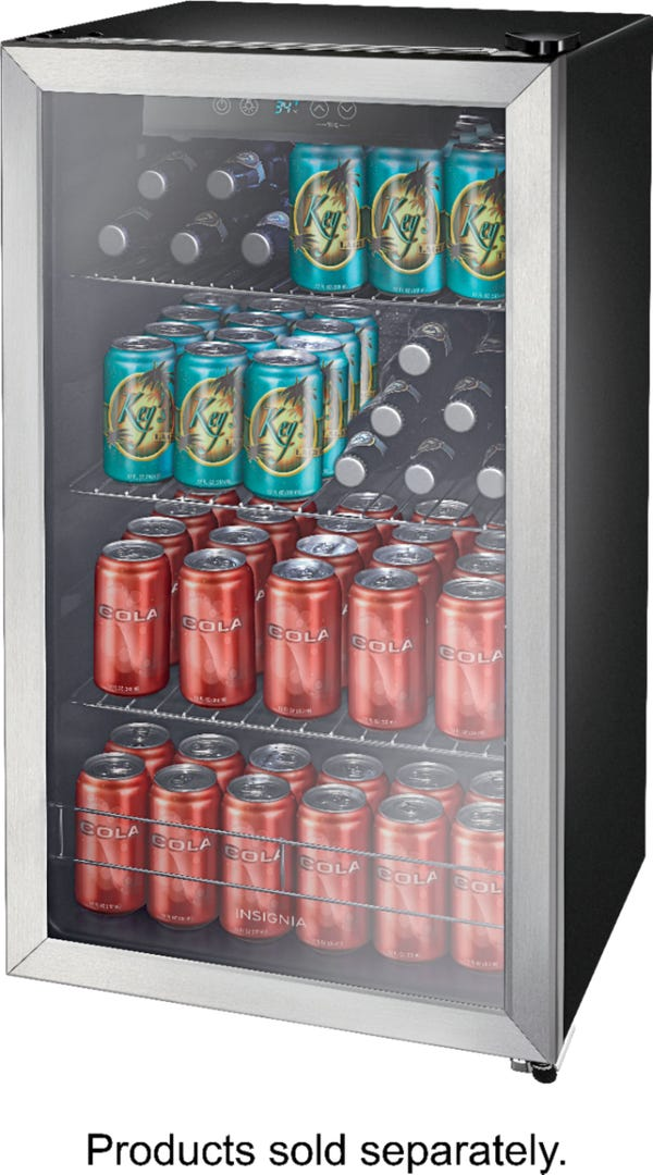 Insignia™ - 115-Can Beverage Cooler