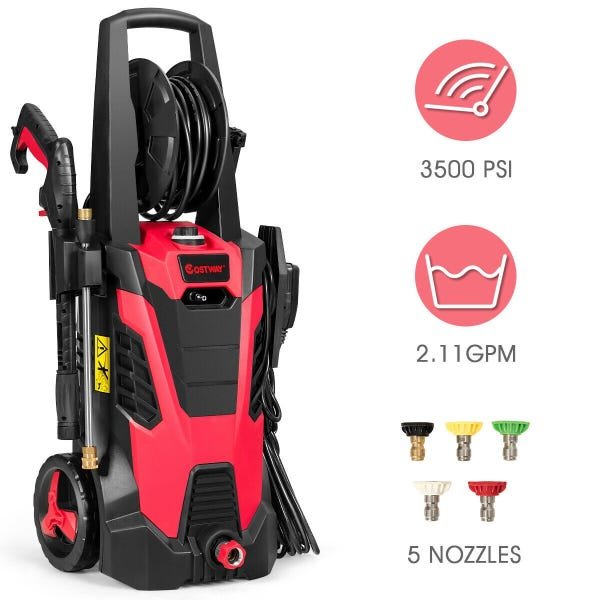 3500 PSI Electric Pressure Power Washer