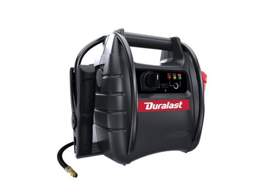 1000 Amp Portable Battery Jump Starter with Compressor