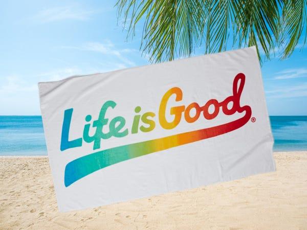 Get a FREE Beach Towel