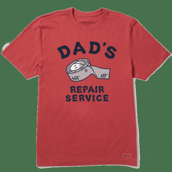 Men's Dad's Repair Service Short Sleeve Tee
