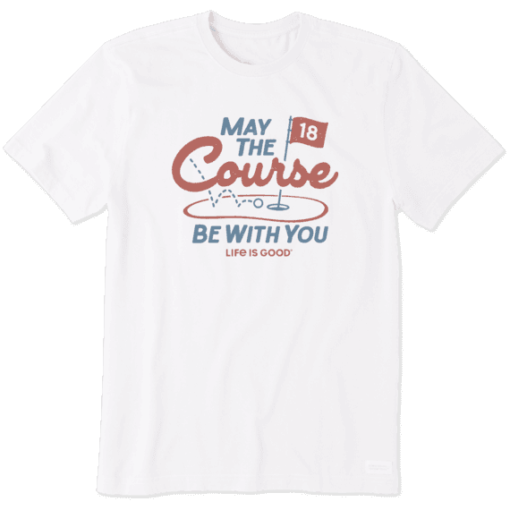 Men's May The Course Crusher Tee
