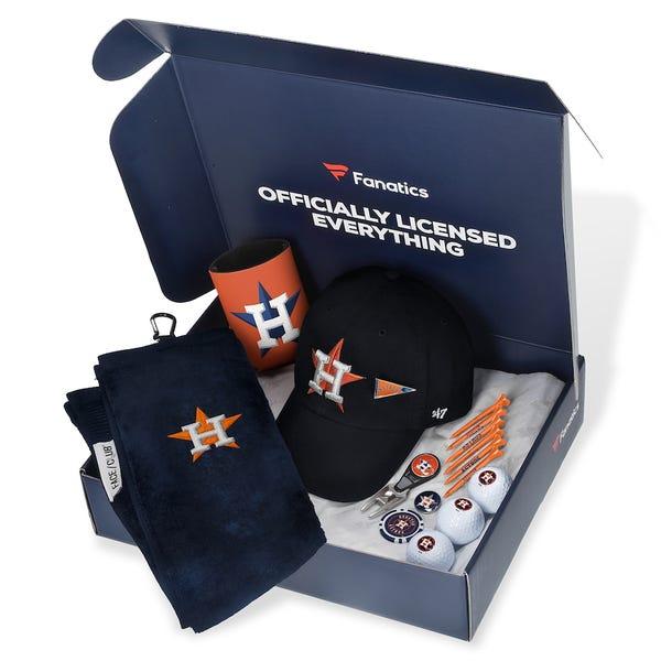 Houston Astros Fanatics Pack Golf-Themed Gift Box - $105+ Value