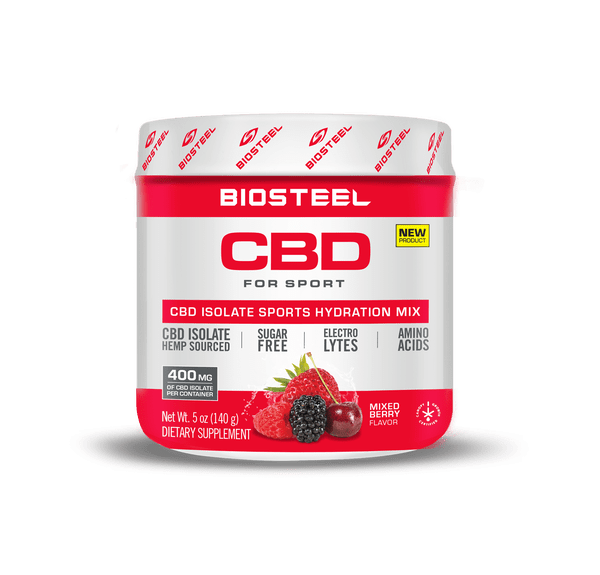 BioSteel CBD Mixed Berry Sports Hydration Mix