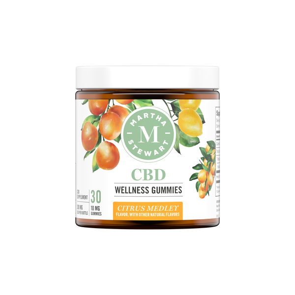 Martha Stewart CBD Wellness Citrus Medley Gummies