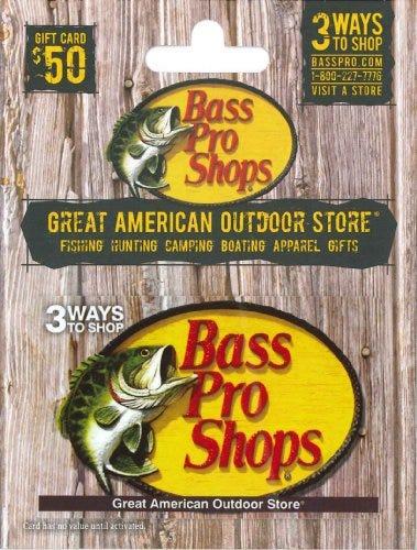 Bass Pro Shops Gift Card $50