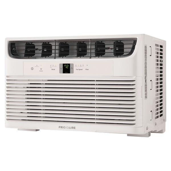 Frigidaire 10,000 BTU 115-Volt Window Air Conditioner with Remote, WIFI, White, FHWW102WCE