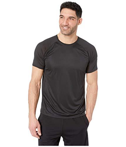 Brooks Men's Stealth Short Sleeve, Black, Medium