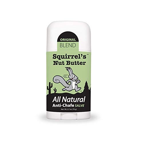 Squirrel's Nut Butter All Natural Anti Chafe Salve, Stick Applicator