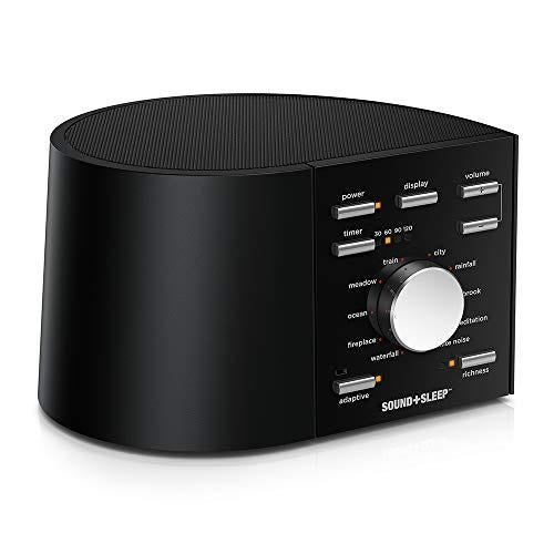 Sound+Sleep High Fidelity Sleep Sound Machine with Real Non-Looping Nature Sounds
