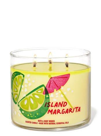 Island Margarita 3-Wick Candle