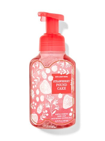 Strawberry Pound Cake Gentle Foaming Hand Soap