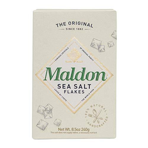 Maldon Sea Salt Flakes, 8.5 oz (240 g)