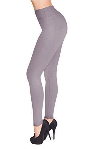 SATINA #1 High Waisted Buttery Soft Leggings | 22 Colors