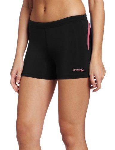Saucony Ignite Tight Short, Black/Pink Energy