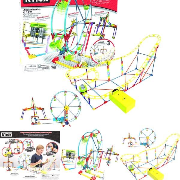 K'NEX Amusement Park-in-a-Box Motorized Amusement Rides