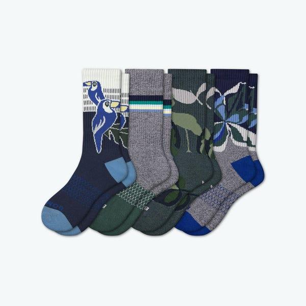 Men's Wild Wear Calf Sock 4-Pack