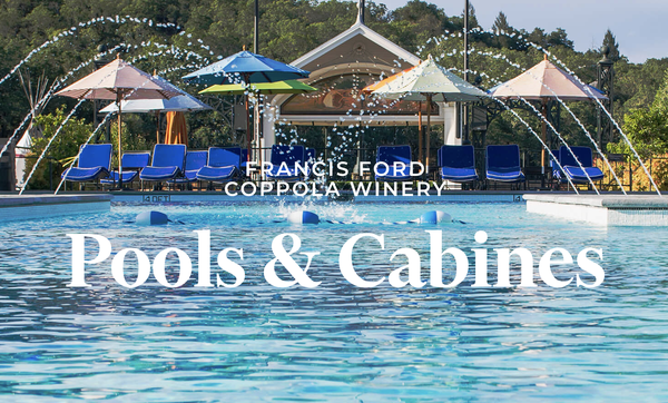 Francis Ford Coppola Winery Pools & Cabines