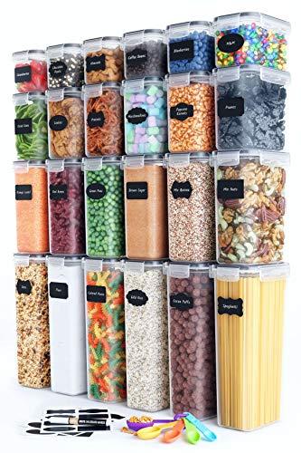 24 Piece Airtight Food Storage Container Set
