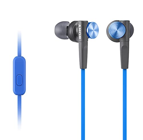 Extra Bass Earbud Headphones/Headset with Mic for Phone Calls