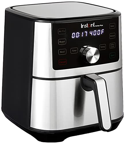 Instant Vortex Plus 6-in-1 Basket Air Fryer with Digital Touchscreen, Customizable Smart Cooking Programs