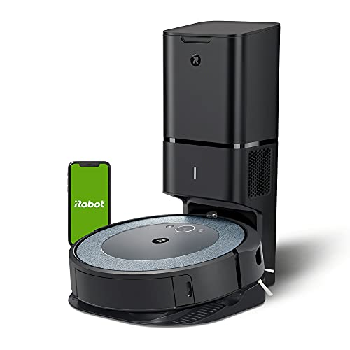 iRobot Roomba i4+ (4552) Robot Vacuum with Automatic Dirt Disposal - Empties Itself for up to 60 Days, Wi-Fi Connected Mapping, Works with Alexa, Ideal for Pet Hair, Carpets