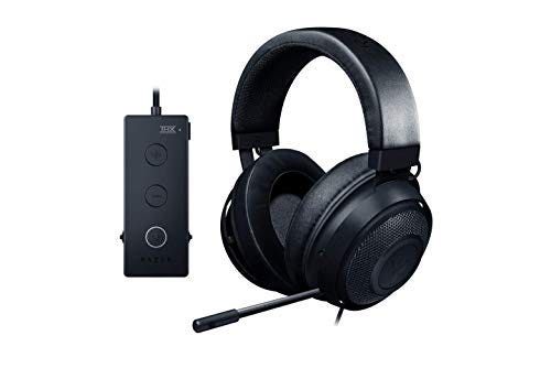 Razer Kraken Tournament Edition Surround Sound Gaming Headset with Retractable Noise Cancelling Mic