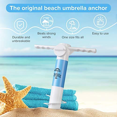 RPOMU Beach Umbrella Sand Anchor