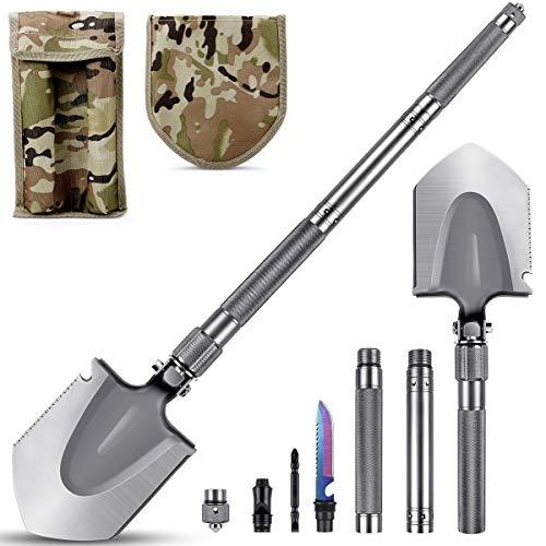Camping Shovel - MOSFiATA 30'' Military Folding Shovel